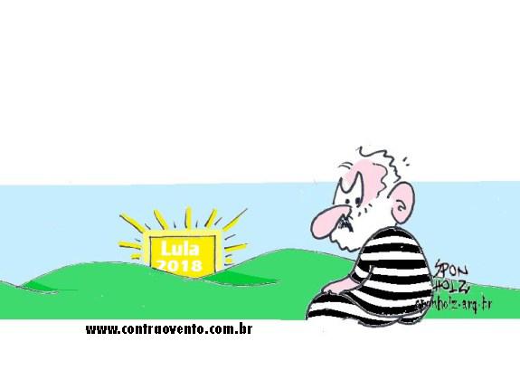 9952e2c76 Cela destinada a Lula não tem frigobar, TV e grades