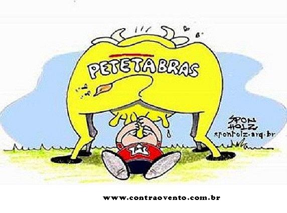 Resultado de imagem para Petrobras- sponholz contra o vento